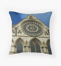 minster in winter Throw Pillow