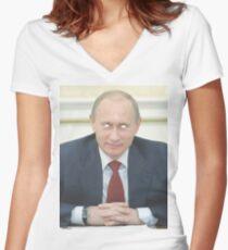 Odd Future Putin Women's Fitted V-Neck T-Shirt