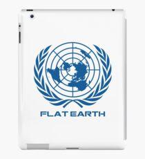 Flat Earth Map Logo iPad Case/Skin
