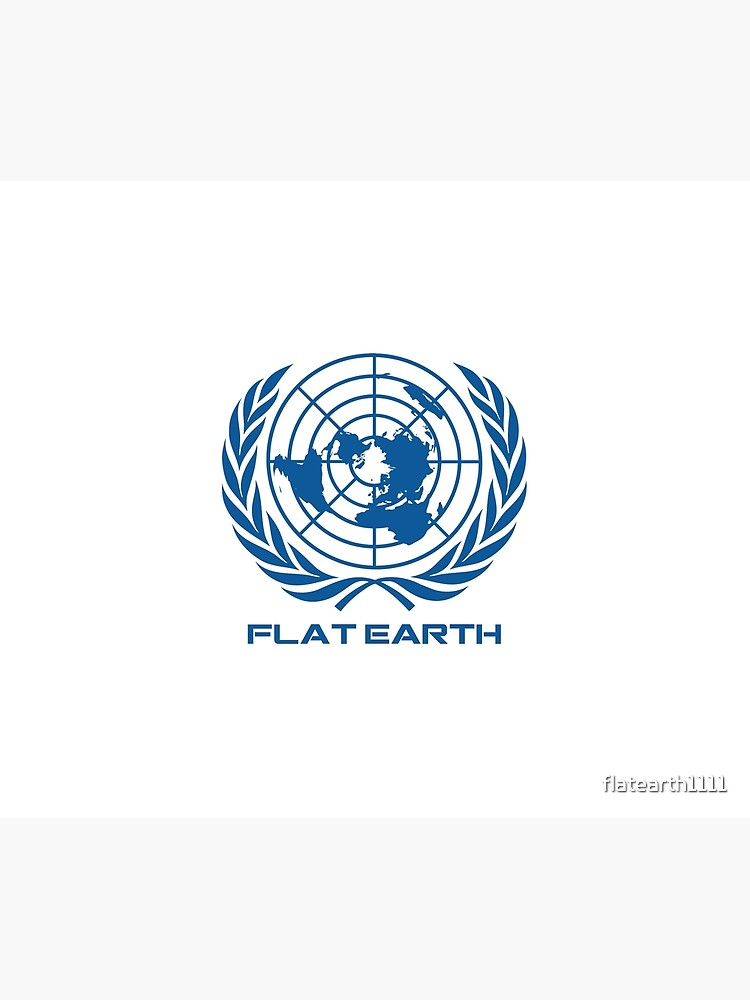 Flat Earth Map Logotipo de flatearth1111