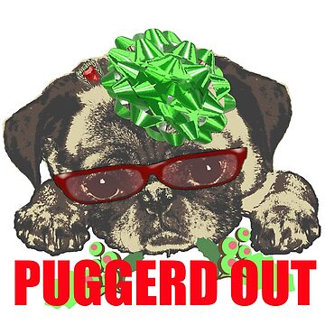 Puggerd out pug pup  by saltypro