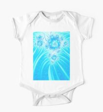 Abstract Christmas Ice Flower Garden Kids Clothes