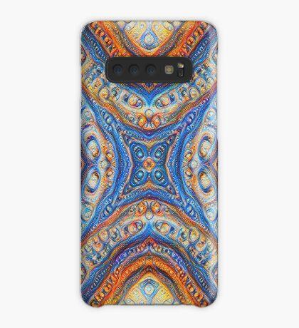 Demicircles #DeepDream Case/Skin for Samsung Galaxy