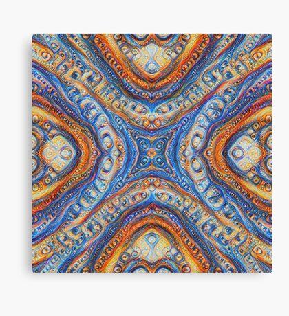 Demicircles #DeepDream Canvas Print