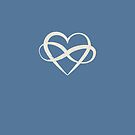 Infinity Heart Polyamory Symbol by ClothedCircuit