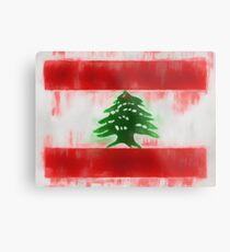 Lebanon Flag Reworked No. 66, Series 1 Metalldruck