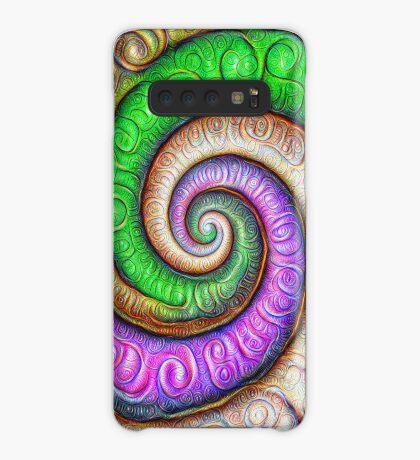 Fibonacci spiral #DeepDream #Art Case/Skin for Samsung Galaxy