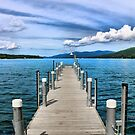 Stepping to the Sea by JulieMaxwell