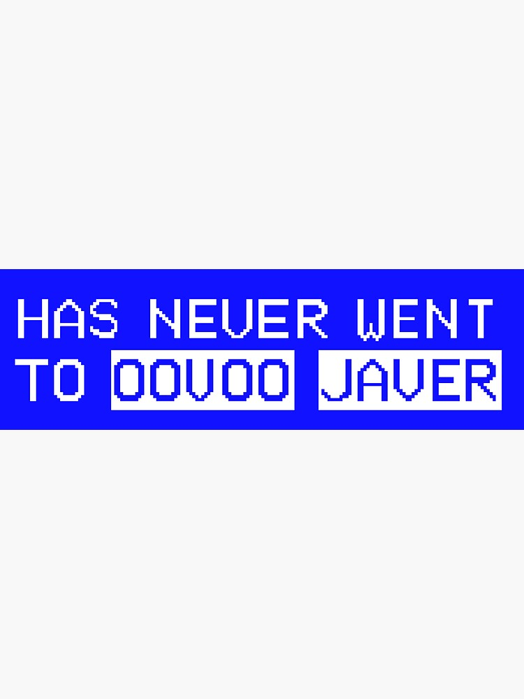 Oovoo Javer by turntsnaaco