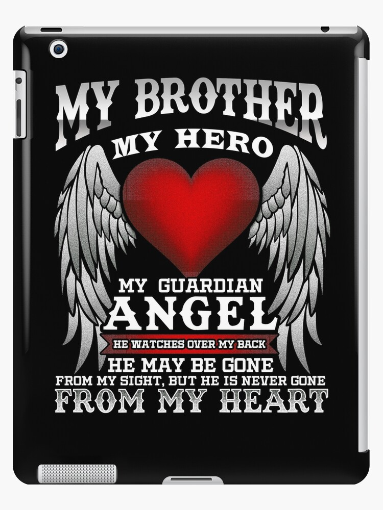 651239f874141 'My Brother, My Guardian Angel!' iPad Case/Skin by Charles Mac