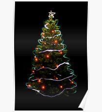 Christmas Tree Light Poster
