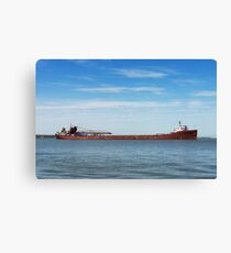 Great Lakes Bulk Carrier Canvas Print