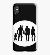 Guardians of the Galaxy peter quill and friends  iPhone Case/Skin