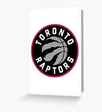 Toronto Raptors Greeting Card