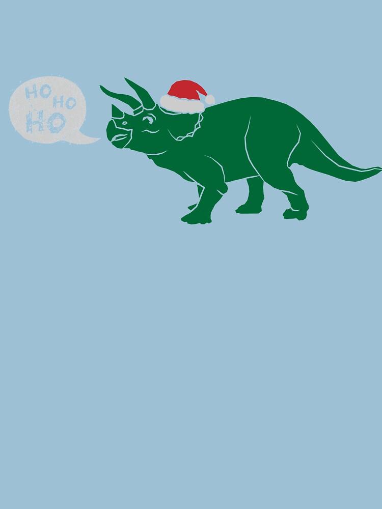Ho Ho Ho - Merry Tricera-mas by lbutler0000107