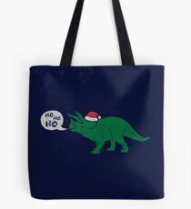 Ho Ho Ho - Merry Tricera-mas Tote Bag