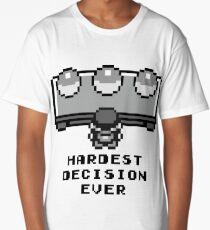 Pokemon - Hardest decision ever Long T-Shirt