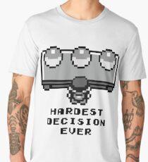 Pokemon - Hardest decision ever Men's Premium T-Shirt