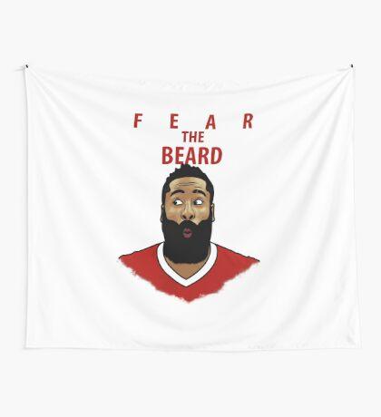 Fear the Beard Wall Tapestry