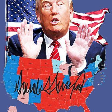 Donald Trump ruling USA by Dulcina