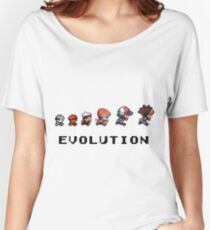 The Evolution of Pokemon Women's Relaxed Fit T-Shirt