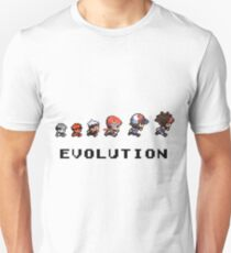 The Evolution of Pokemon T-Shirt