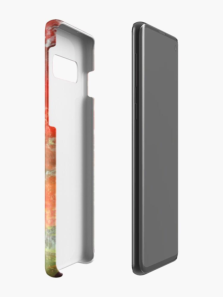 Alternate view of Phoenix Twilight Case & Skin for Samsung Galaxy