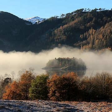 Hawes How Island, Thirlmere by RoystonVasey