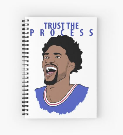 Trust the Process Spiral Notebook