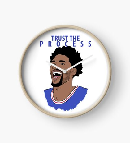 Trust the Process Clock