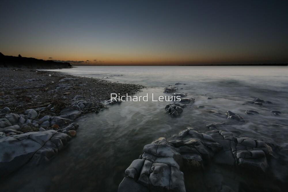 Ogmore Estuary sunset by Richard Lewis