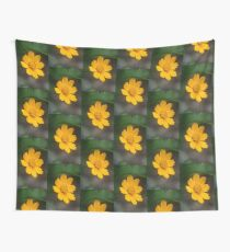 Yellow Daisy Summer Flower Wall Tapestry