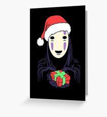 Kaonashi's Trap! Greeting Card
