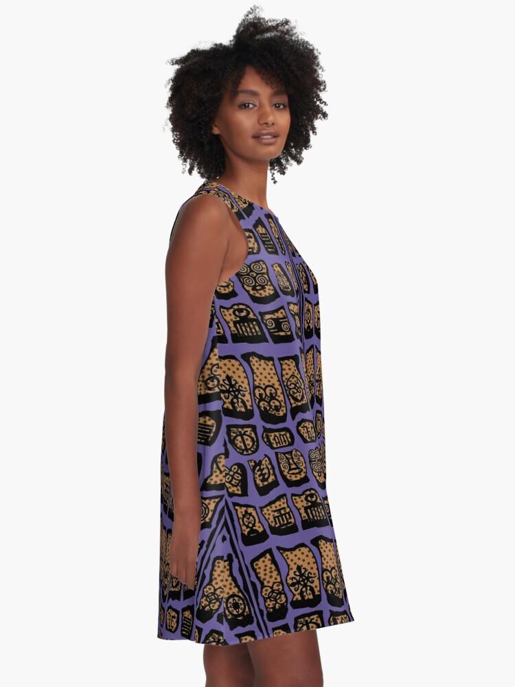 Alternate view of UV100 COTY  A-Line Dress