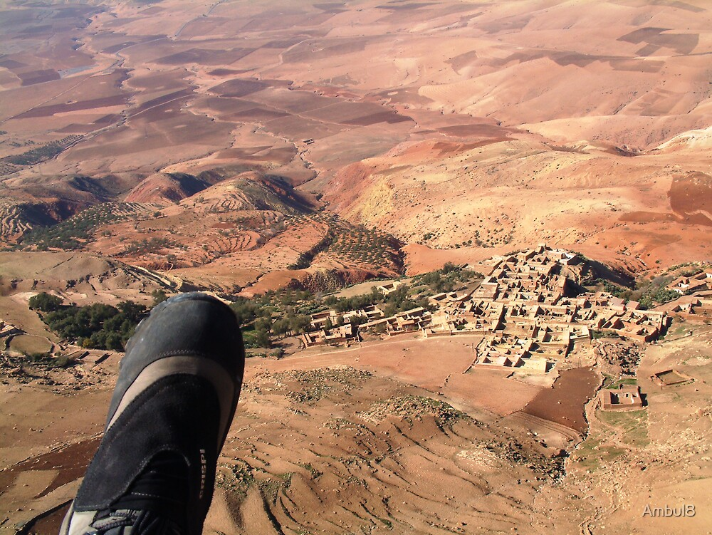 Paragliding in Morocco by Ambul8