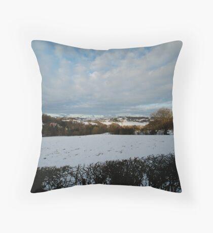 Glaisdale, North York Moors Throw Pillow