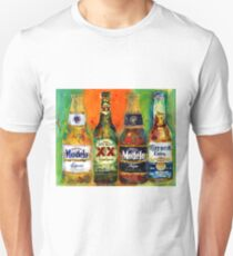 Modelo, Dos Equis, Corona - Mexican Beers   Unisex T-Shirt