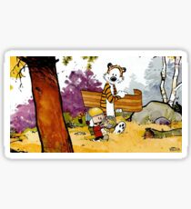 Calvin and Hobbes 7 Sticker