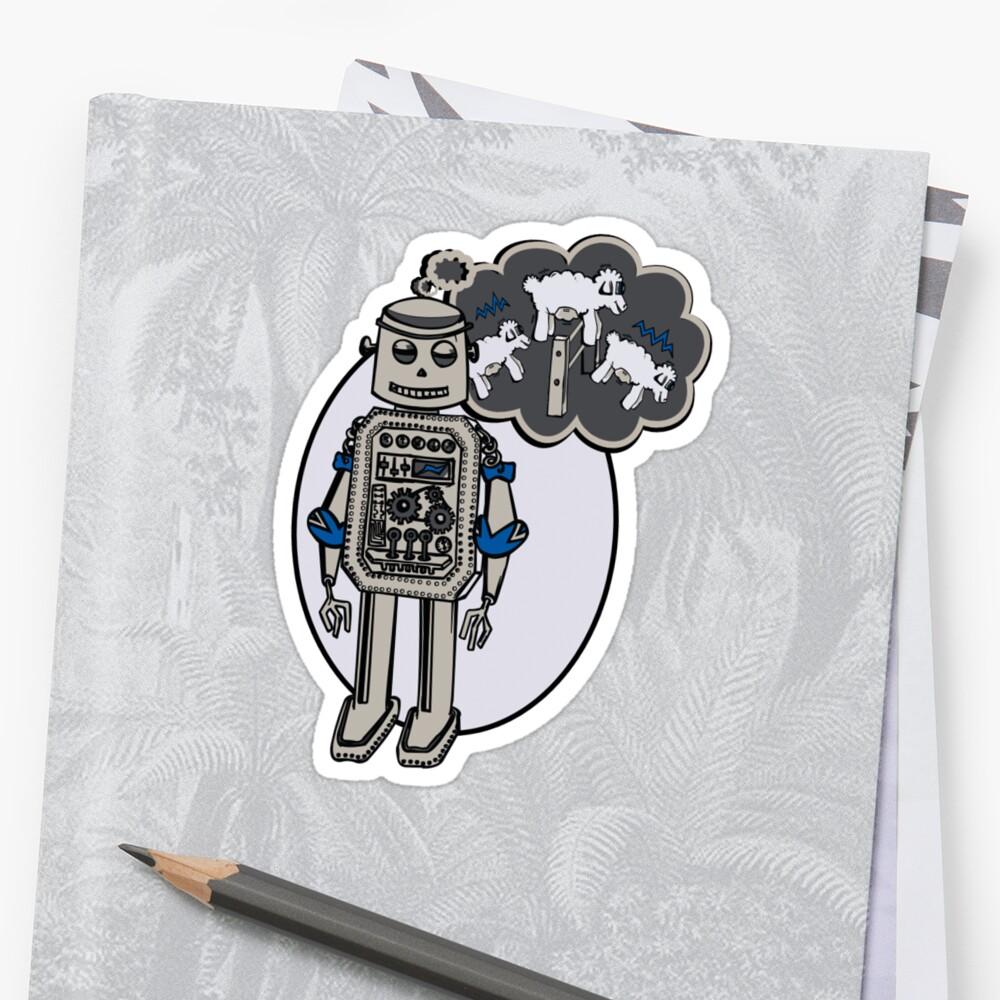 Robots and Sheep by Natasha C