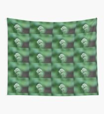 Little White Summer Flowers Wall Tapestry