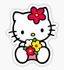 Hello Kitty Tshirt Sticker