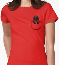 TeamFortress 2 Pocket Pyro (Red) Women's Fitted T-Shirt