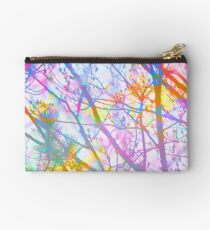The Mist that Birthed the Rainbow Zipper Pouch