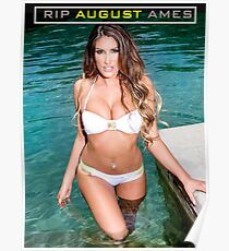 RIP August Ames Poster