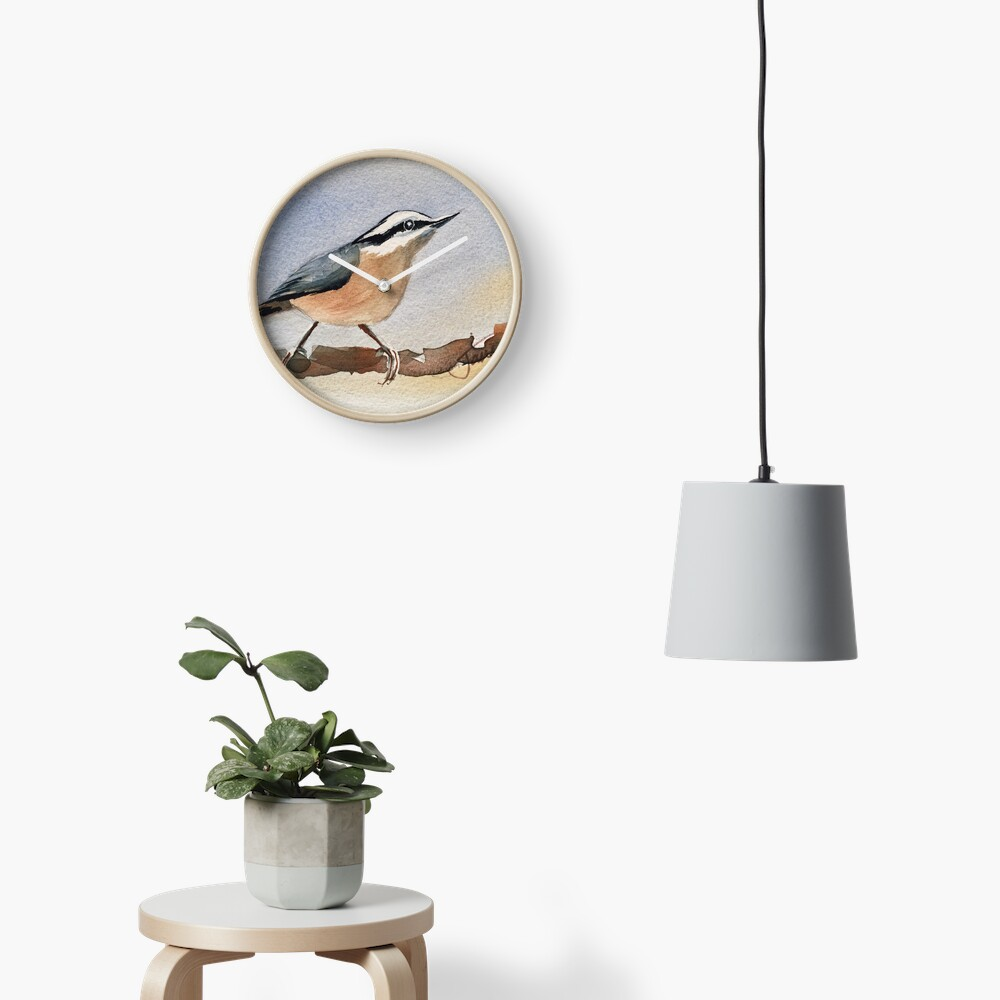 Lonely Nut Clock
