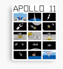 Apollo 11 Canvas Print