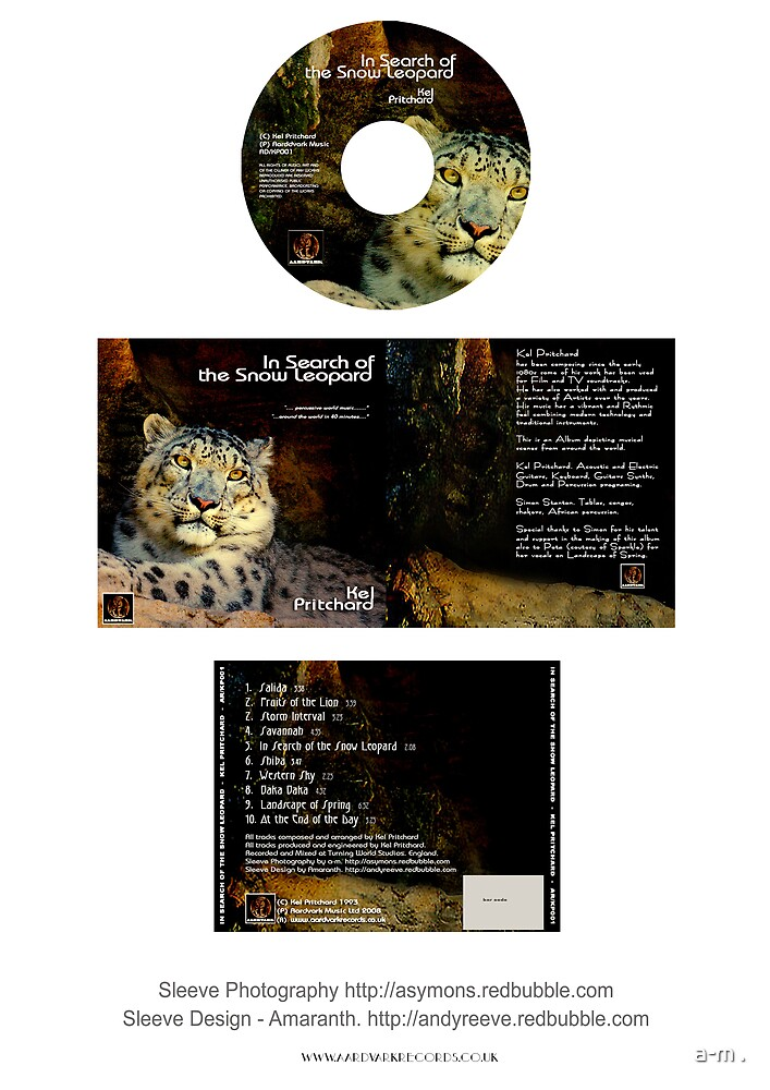 ~My Leopard CD Cover Nov 08~ by a-m .