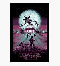 Stranger Things Photographic Print
