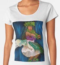 13bce73a Merrie Monarch Hula Premium Scoop T-Shirt
