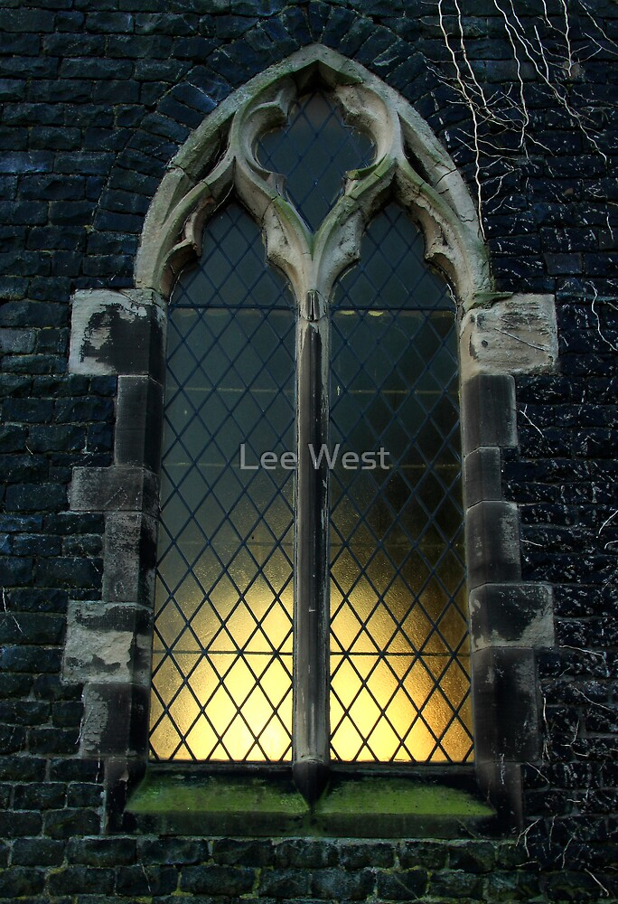 Church window by Lee West